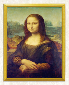 Mona Lisa's Smile - Portrait DIY Painting Kit