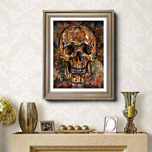Load image into Gallery viewer, Skull DIY Diamond Painting Kit