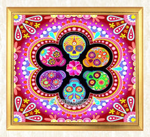 Load image into Gallery viewer, Sugar Skulls Diamond Art