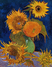 Load image into Gallery viewer, Van Gogh Sunflowers Diamond Painting