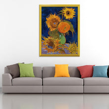 Load image into Gallery viewer, Van Gogh Sunflowers Painting Kit