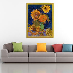 Van Gogh Sunflowers Painting Kit