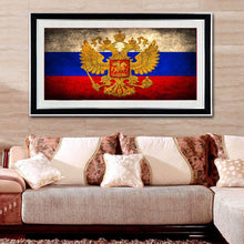 Load image into Gallery viewer, Flag of Russia Diamond Painting