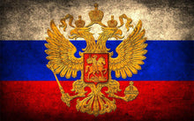 Load image into Gallery viewer, Russian Flag Diamond Painting Kit
