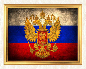 Flag of Russia Diamond Painting