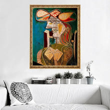 Load image into Gallery viewer, Abstract Woman Portrait by Picasso