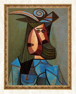 Cubism Portrait by Picasso