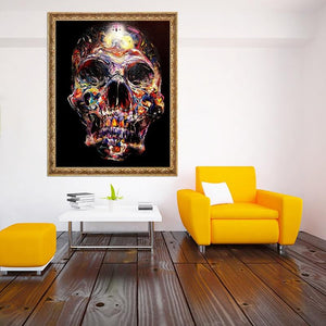 Skull Art DIY Diamond Painting