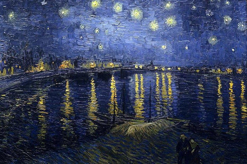 Starry Night Diamond Painting by Van Gogh