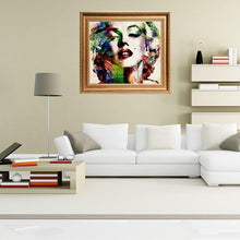 Load image into Gallery viewer, Colorful Portrait Diamond Art- Marilyn Monroe