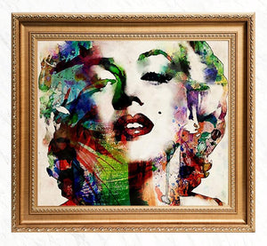Colorful Portrait Diamond Art- Marilyn Monroe