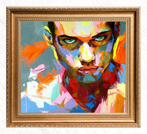 Colorful Portrait of Francoise Nielly's