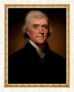 Portrait Painting of Thomas Jefferson