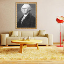 Load image into Gallery viewer, Portrait of George Washington - DIY Painting