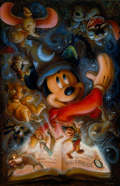 Mickey & Friends DIY Diamond Painting Kit