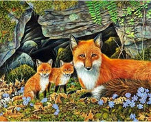 Load image into Gallery viewer, Fox Diamond Painting