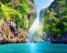 Load image into Gallery viewer, Landscape Thailand DIY Diamond Painting