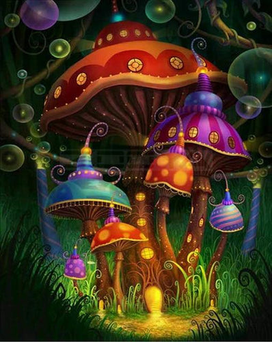 Mushrooms in Alice in Wonderland