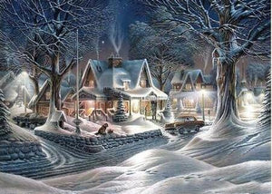 Snow Landscapes -Diamond Art Kits