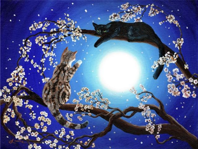 Trees & Cats Painting Kits
