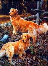 Load image into Gallery viewer, Dogs 5D Diamond Paintings