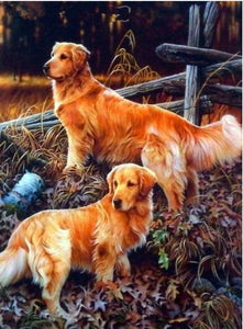 Dogs 5D Diamond Paintings