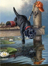 Load image into Gallery viewer, Dogs Diamond Art Painting Kits