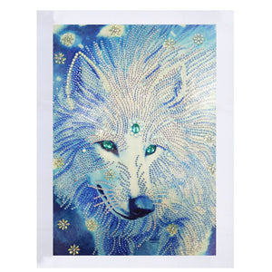 White Wolf - Special Diamond Painting