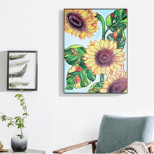 Load image into Gallery viewer, Modern Art Sunflower - Special Diamond Painting