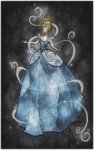 Cinderella DIY Diamond Painting Kit