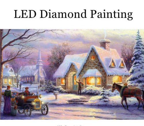 A Cold Evening LED Painting Kit