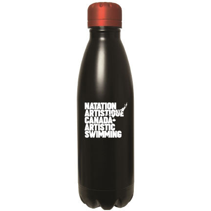 500 ML. (17 OZ.) STAINLESS STEEL BOTTLE-bouteille en acier inoxydable 500 ml