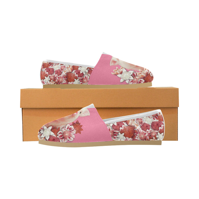 ln 5 pig pink womens casual shoes