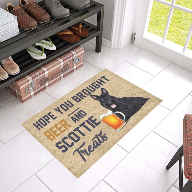 Nh 1 Scottie Beer Doormat