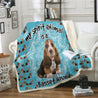 TD Basset Hound Is My Spirit Animal Blanket