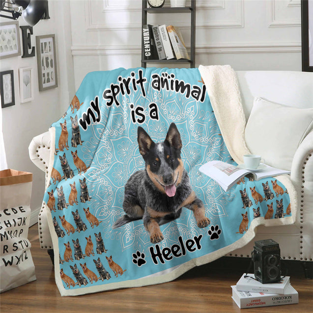 TD Heeler Is My Spirit Animal Blanket