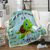 TD Turtle Is My Spirit Animal Blanket