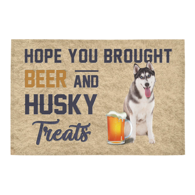 Nh 1 Husky Beer Doormat