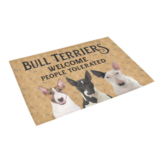 Nh 1 Bull Terriers Welcome doormats