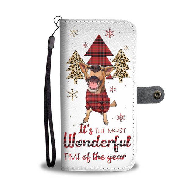 TR Heeler The Most Wonderful Time Wallet Case
