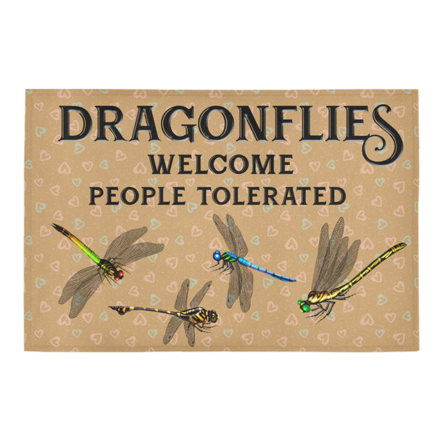 Nh 1 Dragonfly Welcome doormats