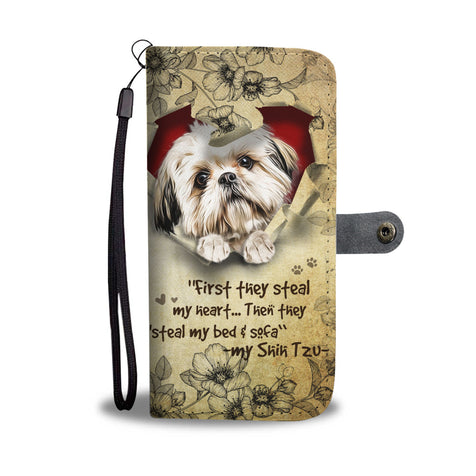Nh 2 Shih Tzu Wallet Case