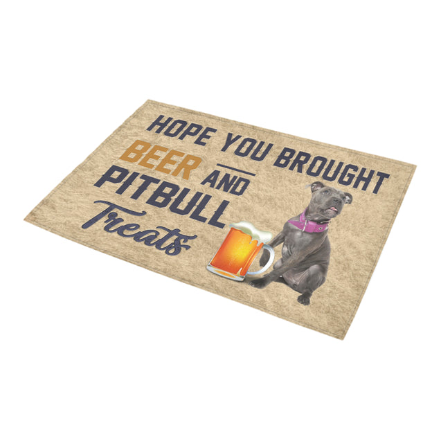 Nh 1 Pitbull Beer Doormat