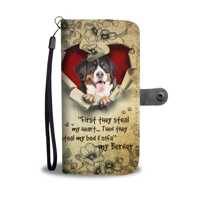 Nh 2 Bernese Mountain Torn Wallet Case