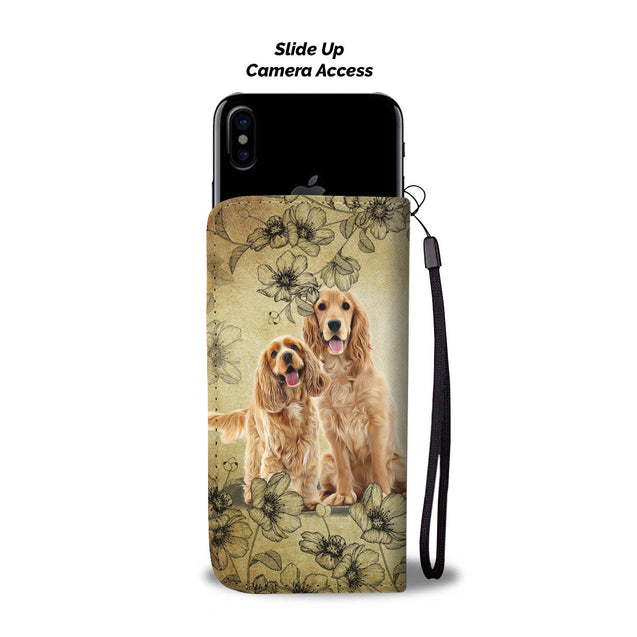 Nh 2 Cocker Spaniel Torn Wallet Case
