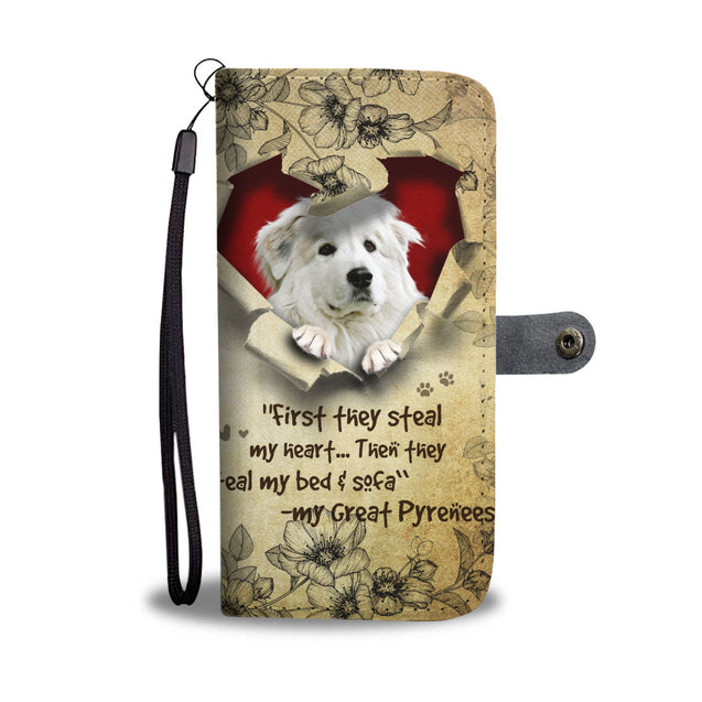 Nh 2 Great Pyrenees Torn Wallet Case