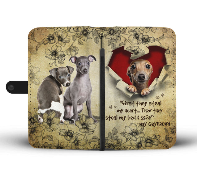 Nh 2 Grey hound Torn Wallet Case