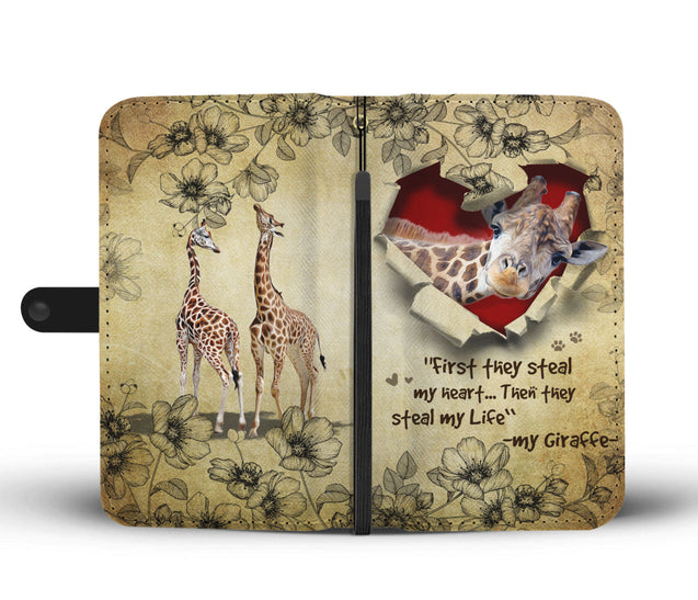 Nh 2 Giraffe Torn Wallet Case
