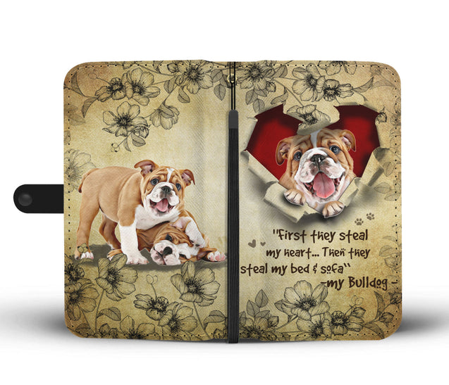 Nh 2 Bulldog Torn Wallet Case