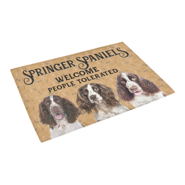 Nh 1 Springer Spaniel Welcome doormats